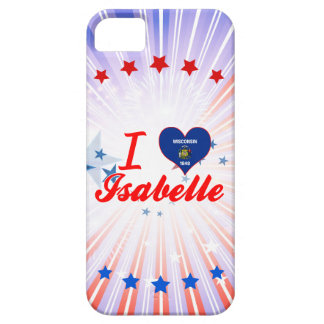 I Love Isabelle, Wisconsin iPhone 5 Cases