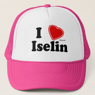 I Love Iselin Trucker Hat