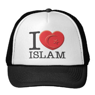 I Love Islam Hats