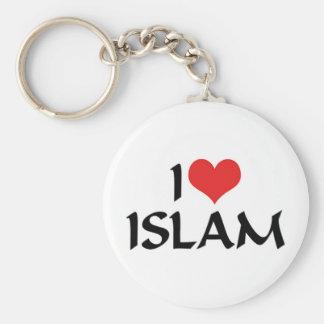 I Love Islam Keychain