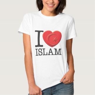 I Love Islam T Shirt