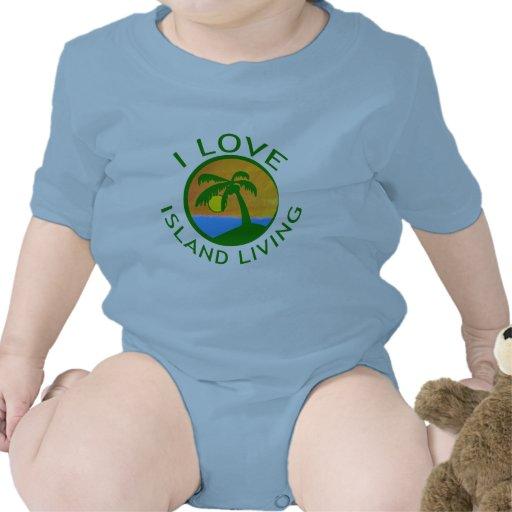 I Love Island Living Products T Shirt