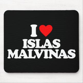 I LOVE ISLAS MALVINAS MOUSE PAD