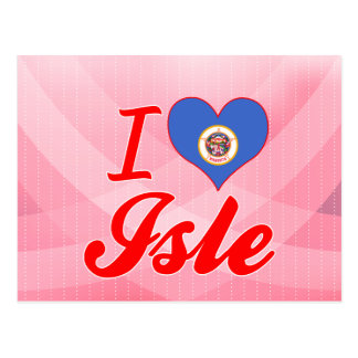 I Love Isle, Minnesota Postcards