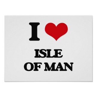 I Love Isle Of Man Poster