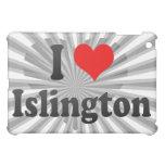 I Love Islington, United Kingdom iPad Mini Cover