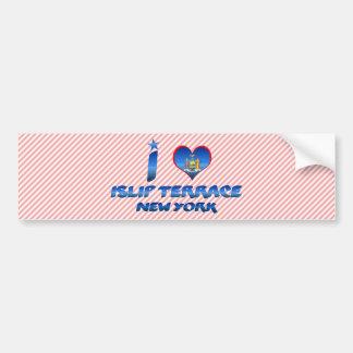 I love Islip Terrace New York Bumper Sticker