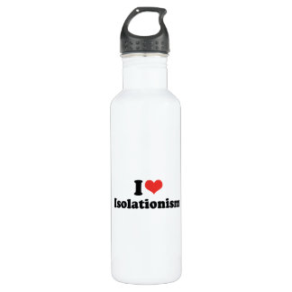 I LOVE ISOLATIONISM - .png 24oz Water Bottle