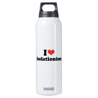 I LOVE ISOLATIONISM - .png 16 Oz Insulated SIGG Thermos Water Bottle