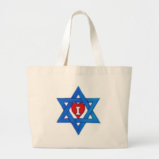 I LOVE ISRAEL! JUMBO TOTE BAG