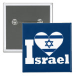 I Love Israel Button