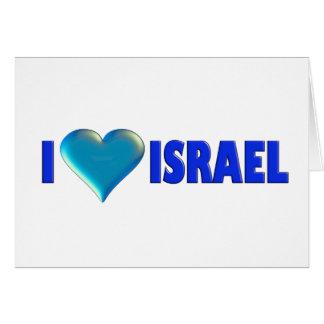 I Love Israel Card