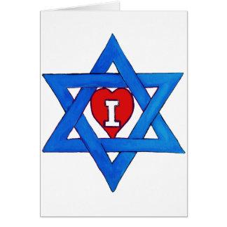I LOVE ISRAEL! CARD