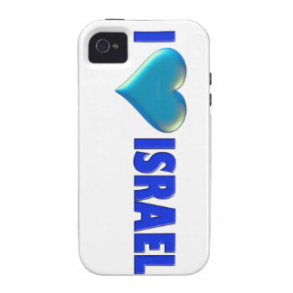 I Love Israel iPhone 4 Cover