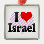 I love Israel Christmas Ornament