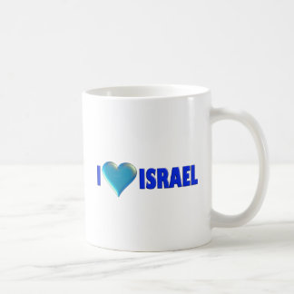 I Love Israel Coffee Mug