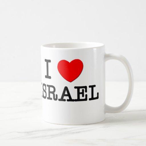 I Love Israel Coffee Mugs