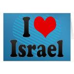 I love Israel Greeting Card