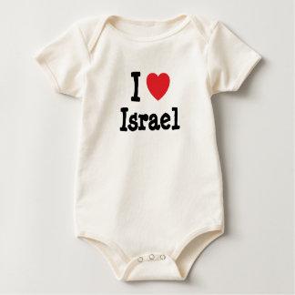 I love Israel heart custom personalized Creeper