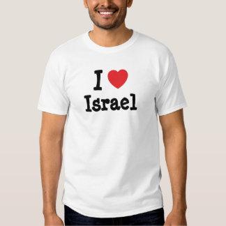 I love Israel heart custom personalized Tshirt