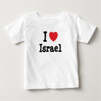 I love Israel heart custom personalized Tshirts