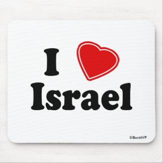 I Love Israel Mouse Pad