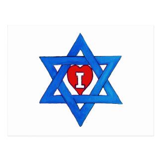 I LOVE ISRAEL! POSTCARD