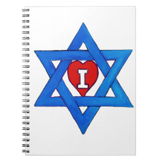 I LOVE ISRAEL! SPIRAL NOTEBOOK