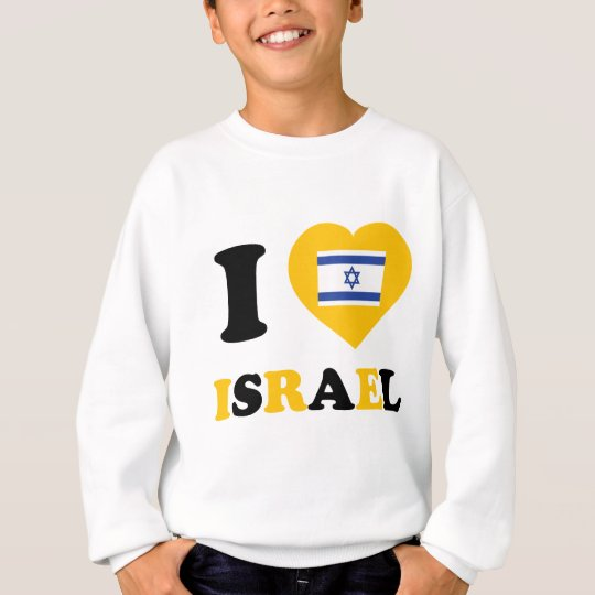 I Love Israel Sweatshirt