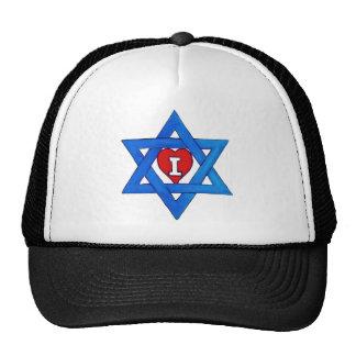 I LOVE ISRAEL! TRUCKER HAT