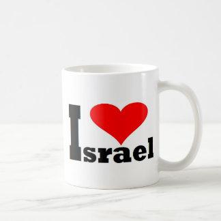 I love Israel - with large red heart Coffee Mug