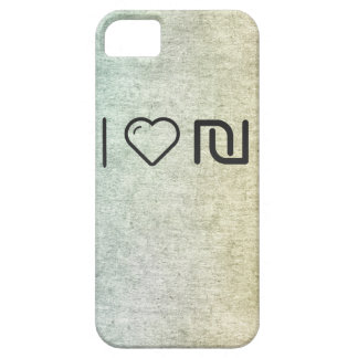 I Love Israeli Currencys iPhone 5 Cover
