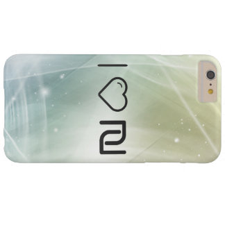 I Love Israeli Currencys Barely There iPhone 6 Plus Case