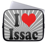 I love Issac Computer Sleeves
