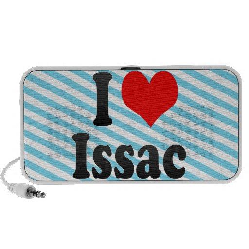 I love Issac Travelling Speaker