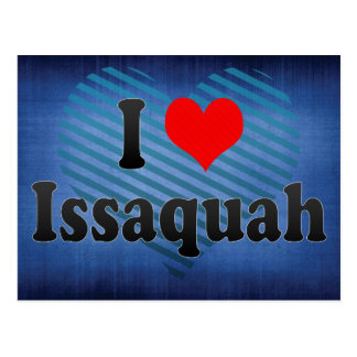 I Love Issaquah, United States Postcard