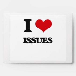 I Love Issues Envelope