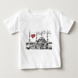 I love Istanbul Baby T-Shirt