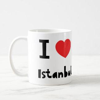 I love Istanbul Classic White Coffee Mug