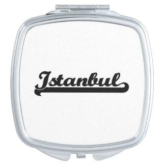 I love Istanbul Turkey Classic Design Makeup Mirrors