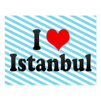 I Love Istanbul, Turkey Postcard