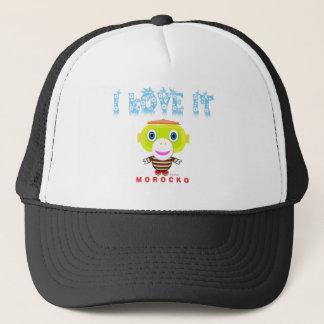 I Love It-Cute Monkey-Morocko Trucker Hat