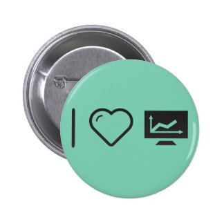 I Love It Increasing 2 Inch Round Button