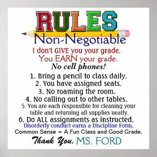 I Love It! School Teacher's Poster - SRF