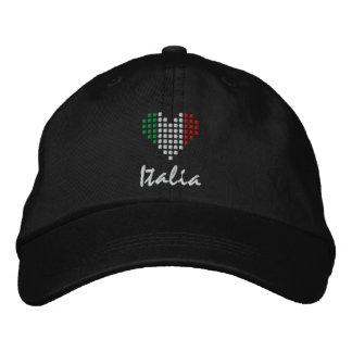 I Love Italia Cap - Amo l'Italia Hat Baseball Cap