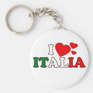 I Love Italia Keychain