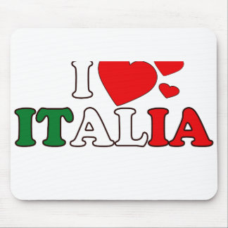 I Love Italia Mousepad