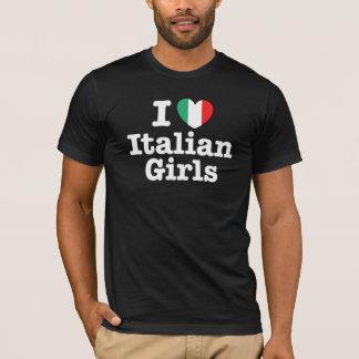 I Love Italian Girls T-Shirt