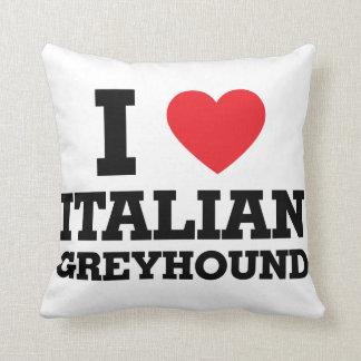 I love Italian Greyhound Pillows