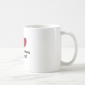 I Love Italian Men Classic White Coffee Mug